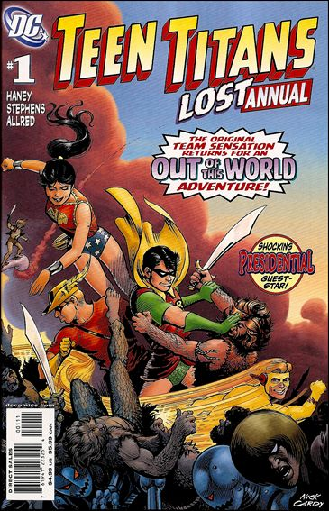 Teen Titans Lost Annual 1-A by DC