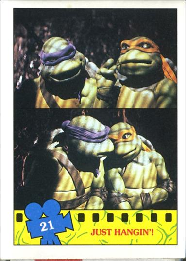 Teenage Mutant Ninja Turtles Movie (Base Set) 21-A by Topps