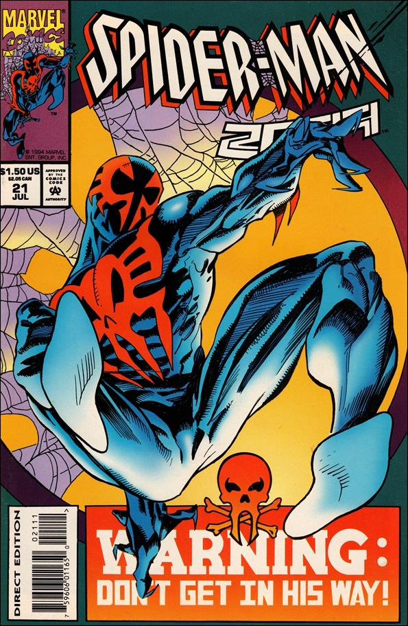 Spider-Man 2099 (1992) 21-A by Marvel