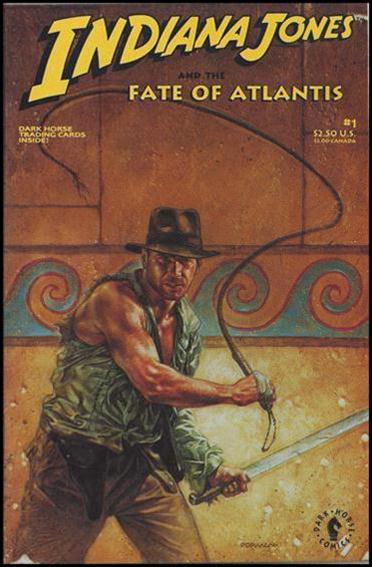 Indiana Jones and the Fate of Atlantis 1-A by Dark Horse