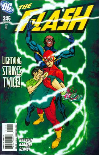 Flash (1987) 245-A by DC