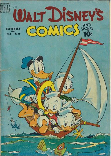 Walt Disney's Comics and Stories (1940) 108-A by Dell