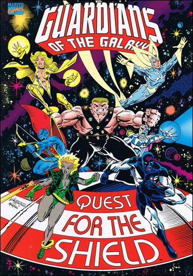 Guardians of the Galaxy: Quest for the Shield 1-A by Marvel