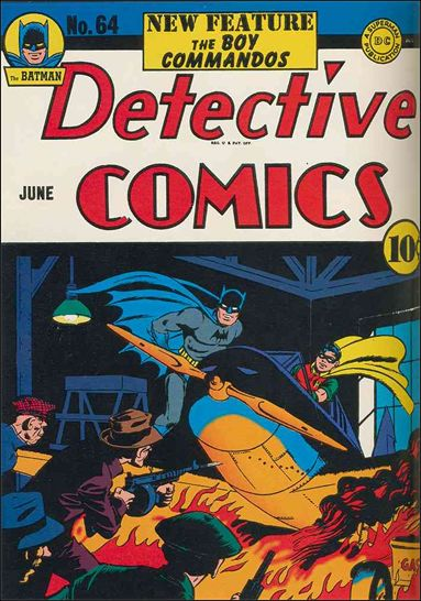 Detective Comics (1937) 64-A by DC