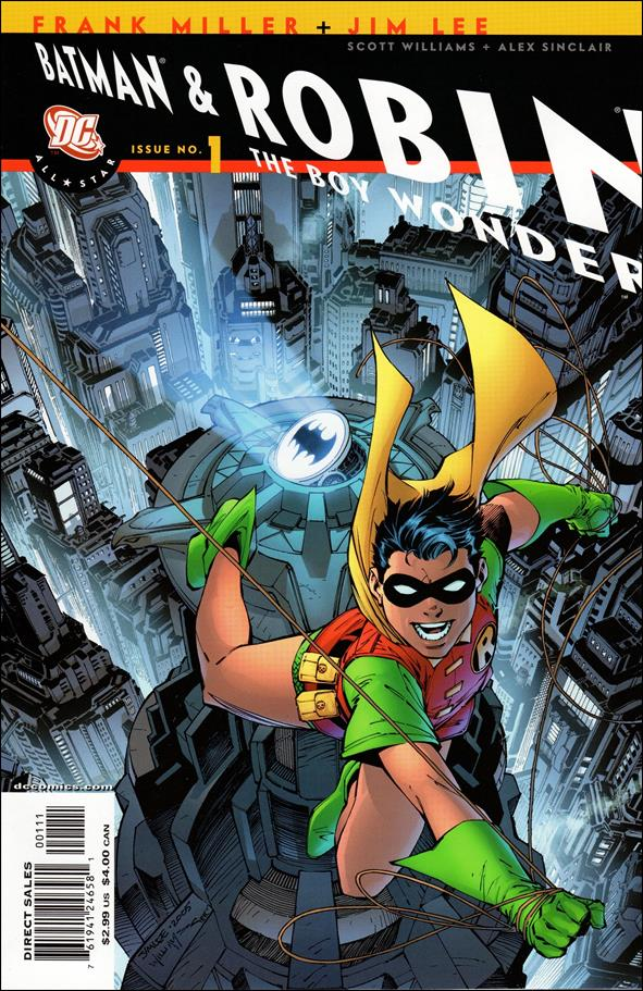 All Star Batman & Robin, The Boy Wonder 1-B by DC