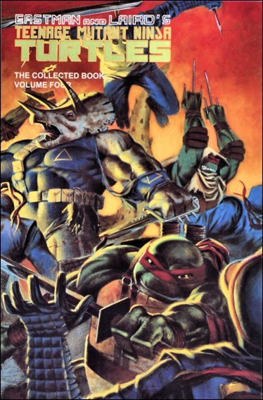 Teenage Mutant Ninja Turtles: The Collected Book 4-A by Mirage