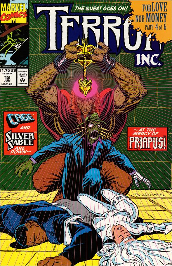Terror, Inc. (1992) 12-A by Marvel