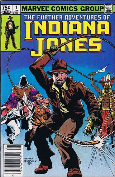 Further Adventures of Indiana Jones 1-B by Marvel