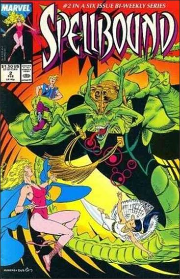 Spellbound (1988) 2-A by Marvel