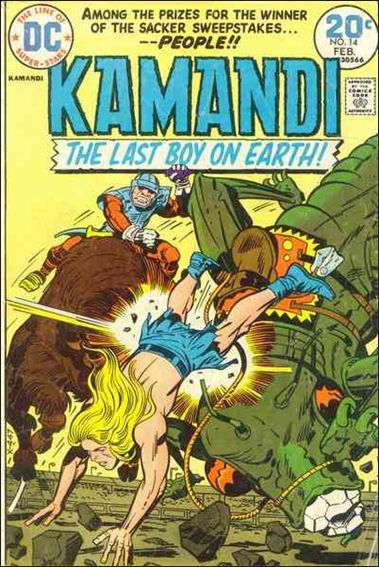 Kamandi, the Last Boy on Earth 14-A by DC