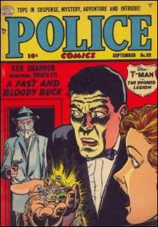Police Comics 119-A by Comic Magazines