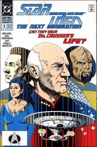 Star Trek: The Next Generation (1989) 9-A by DC