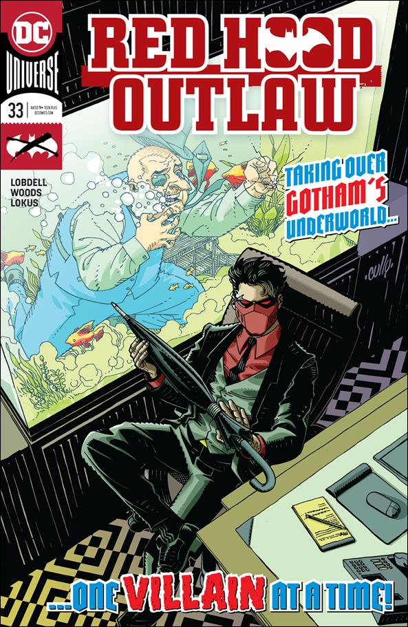 Red Hood: Outlaw 33-A by DC