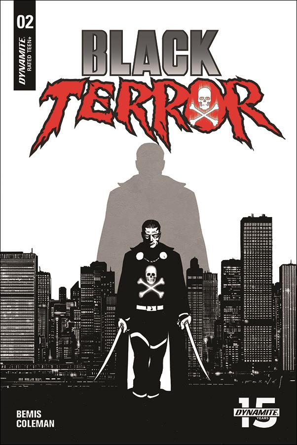 Black Terror (2019) 2-F by Dynamite Entertainment