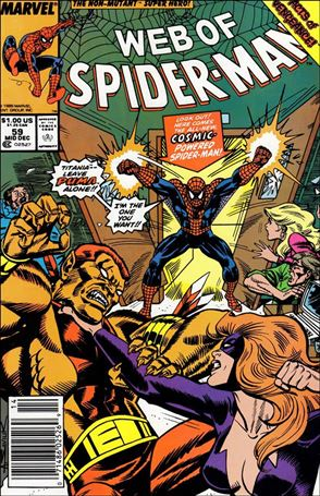 Web of Spider-Man (1985) 59-A