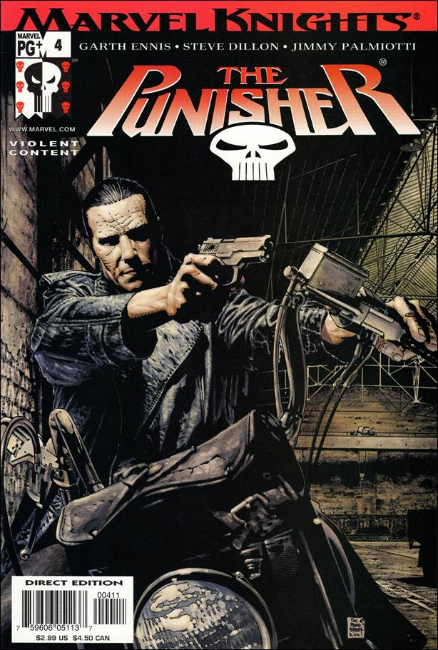 Punisher (2001) 4-A by Marvel
