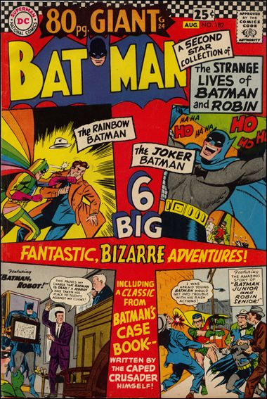 Batman (1940) 182-A by DC