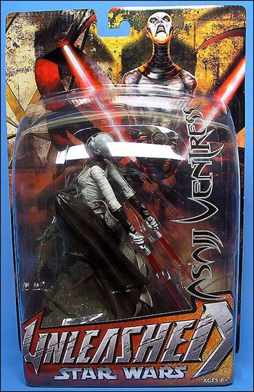 Star Wars: Unleashed Asajj Ventress by Hasbro