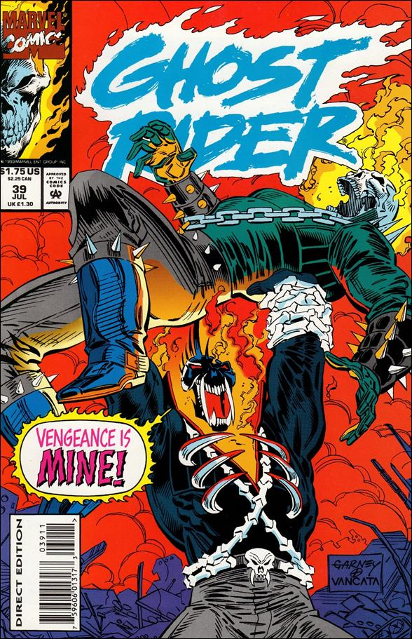 Ghost Rider (1990) 39-A by Marvel