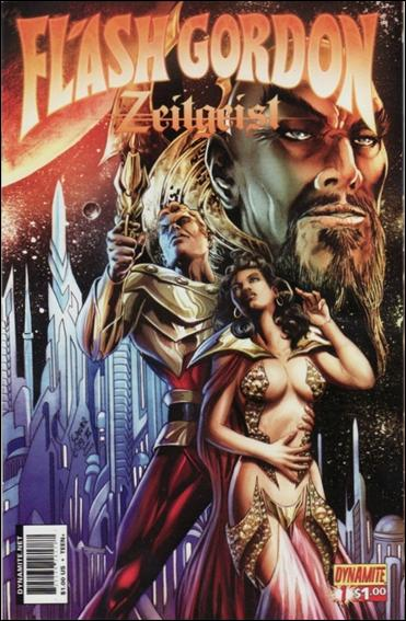 Flash Gordon: Zeitgeist 1-D by Dynamite Entertainment