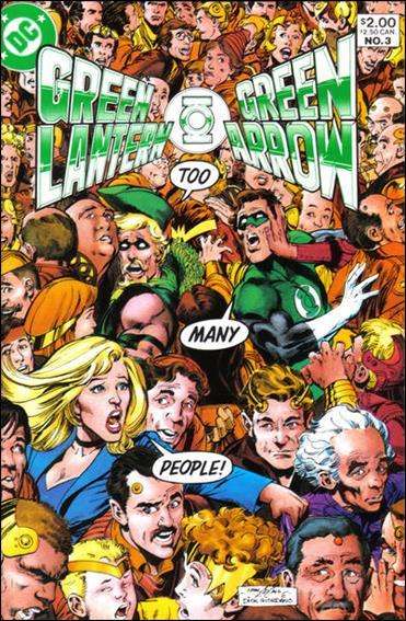 Green Lantern/Green Arrow 3-A by DC