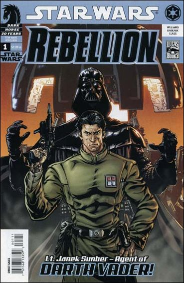 Star Wars: Rebellion 1-A by Dark Horse