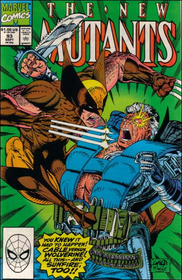 New Mutants (1983) 93-A by Marvel