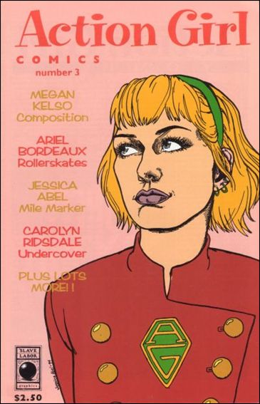 Action Girl Comics 3-A by Slave Labor Graphics (SLG) Publishing