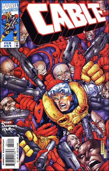 Cable (1993) 51-A by Marvel