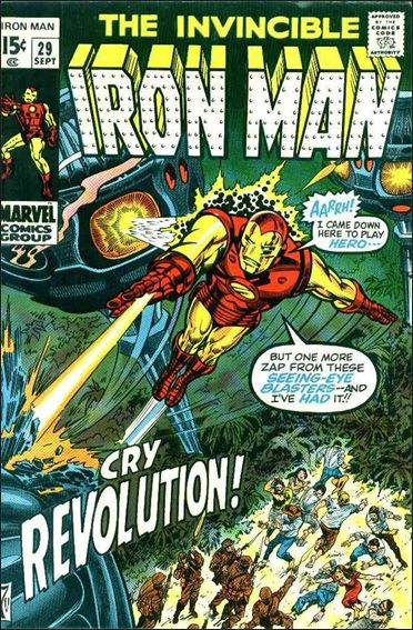 Iron Man (1968) 29-A by Marvel
