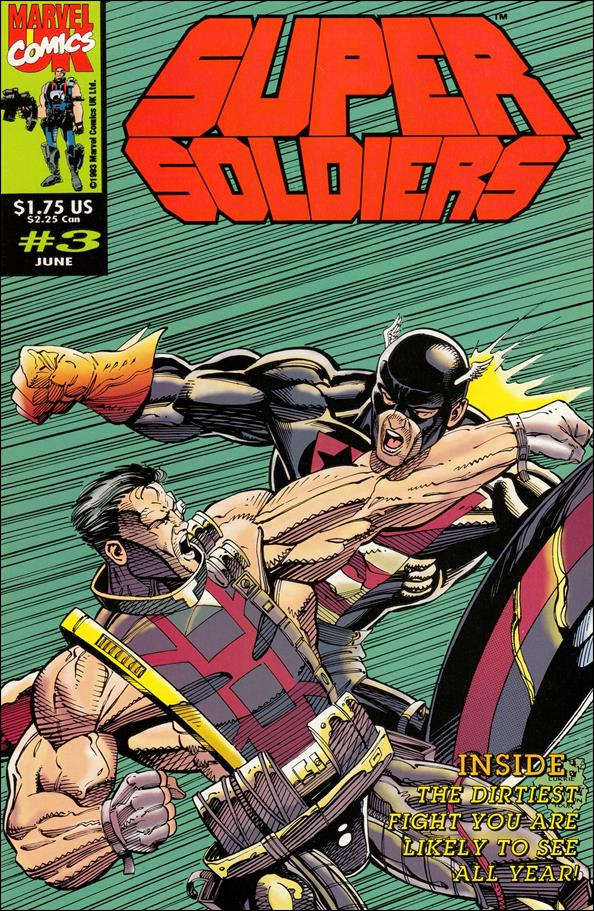 Super Soldiers (UK) 3-A by Marvel UK