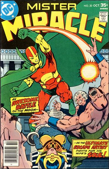 Mister Miracle (1971) 20-A by DC