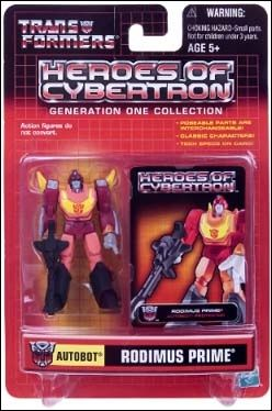 Transformers: Heroes of Cybertron (Generation One Collection) Rodimus Prime by Hasbro