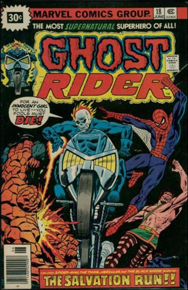 Ghost Rider (1973) 18-B by Marvel