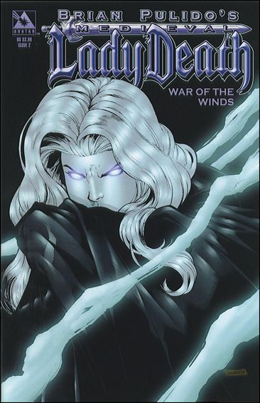 Brian Pulido's Medieval Lady Death: War of the Winds 2-A by Avatar Press
