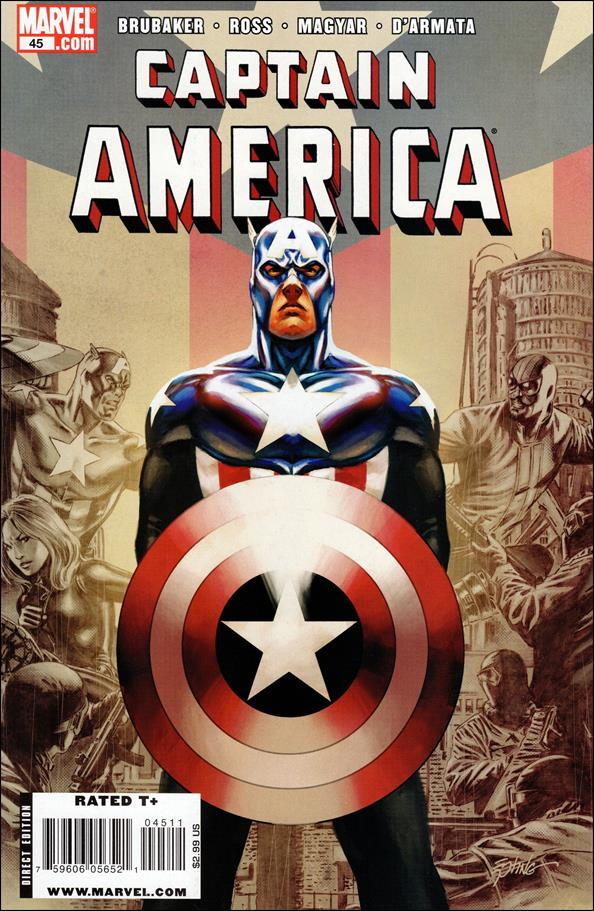 Captain America (2005) 45-A by Marvel