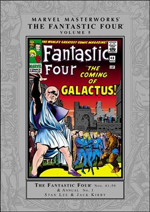 Marvel Masterworks: The Fantastic Four 5-C