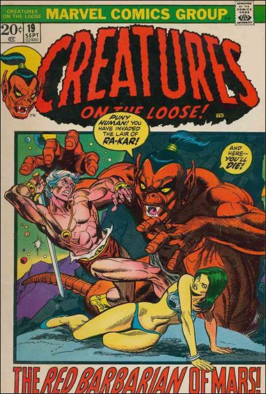 Creatures on the Loose 19-A by Marvel