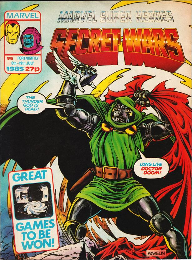 Marvel Super Heroes Secret Wars (UK) 6-A by Marvel UK