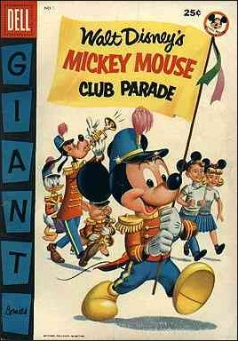Mickey Mouse Club Parade 1-A by Dell