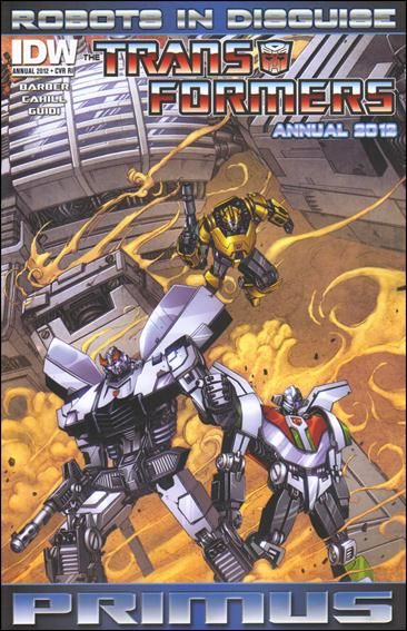 Transformers: Robots in Disguise Annual 2012-C by IDW