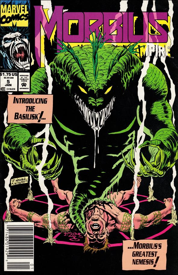 Morbius: The Living Vampire (1992) 5-A by Marvel