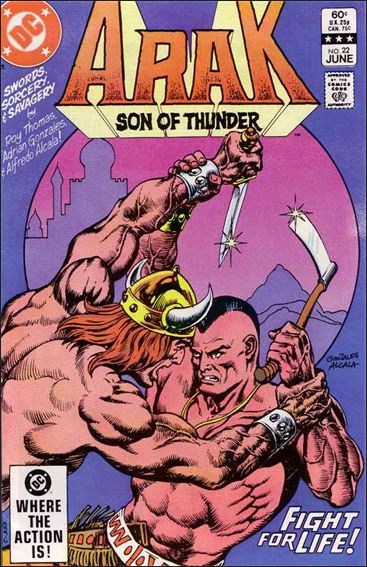 Arak Son of Thunder 22-A by DC