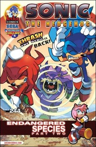 Sonic the Hedgehog (1993) 244-A by Archie