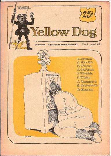 Yellow Dog 6-A by Print Mint