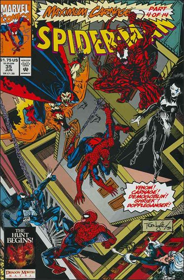 Spider-Man (1990) 35-A by Marvel
