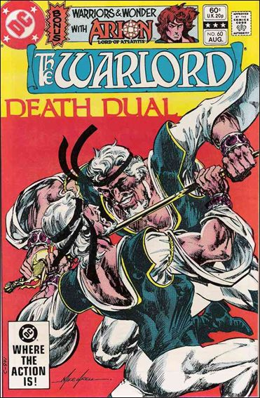 Warlord (1976) 60-A by DC