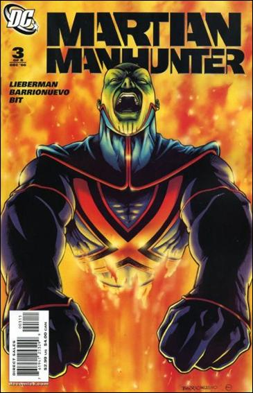Martian Manhunter (2006) 3-A by DC