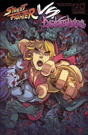 Street Fighter vs Darkstalkers 2-A