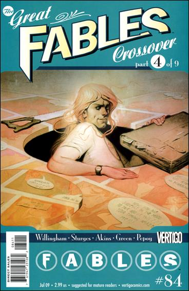 Fables 84-A by Vertigo